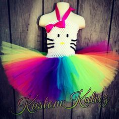 Hey, I found this really awesome Etsy listing at https://www.etsy.com/listing/184700654/hello-kitty-costume-birthday-outfit