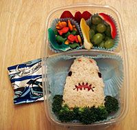 lunch idea, lunch boxes, kid lunch, shark week, first day of school lunch