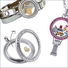Twist Living Lockets... a perfect way to update your charms to reflect whats important in your life. Just click on the pic to order.