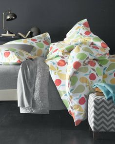 Orchard Flannel Bedding GIRLS ROOM