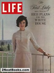 LIFE cover featuring Jackie Kennedy (September 1961) magazine covers, first ladies, balconies, jacquelin kennedi, jfk, magazines, life magazine, jacki kennedi, september