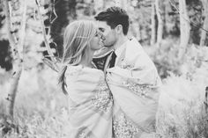 Outdoor fall engagement session ideas
