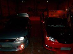 Honda e vectra na Ex Customs Tuning