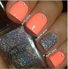 I love the orange! This color is so pretty!