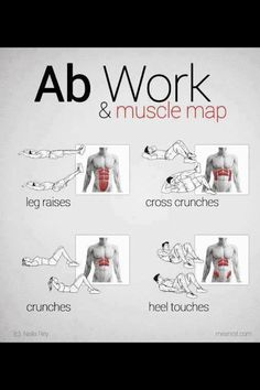 Ab work & muscle group