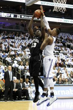 An http://www.GogelAutoSales.com RePin     Khyle Marshall of the Butler Bulldogs attempts a shot against Brandon Mobley of the Seton Hall Pirates     We'd Love you to Like us on FB! https://www.facebook.com/GogelAuto  Since 1962, Rt. 10, East Hanover