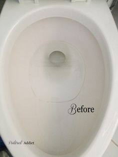 Toilet ring before