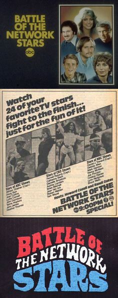Battle of the Network Stars was a series of competitions where television stars from ABC, CBS, and NBC would compete in various sporting events. A total of nineteen of these competitions were held, all of which were aired by ABC from 1976 through 1988.