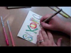 Easy Lettering Techniques by Julie Fei-Fan Balzer