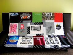 t shirt quilt tutorial.