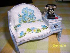 EdenMiniaturas: Tutorial Stuhl mit Telefon