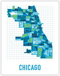old homes, wall art, ork poster, maps, chicago neighborhood, the neighborhood, place, sweet home, posters