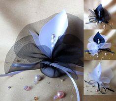 luxury+handmade+wedding+favors+calla+lily+crystal+black+by+adiart1,+$1.30