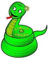 """According to legend, St. Patrick drove the snakes out of Ireland.  Have your students write a """"Simile Snake"""" poem using these cute snake poetry templates."""