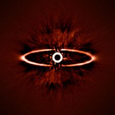 An exoplanet-hunting add-on for the Very Large Telescope has taken its first images, revealing a stunning ringed star with unprecedented clarity