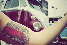Volkswagen Bus tattoo
