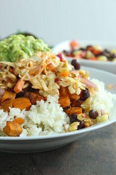 Tex Mex Barrio Veggie Bowl - YUM! Yum!!