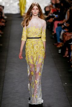 Naeem Khan Spring 2015 Ready-to-Wear - Collection - Gallery - Look 1 - Style.com