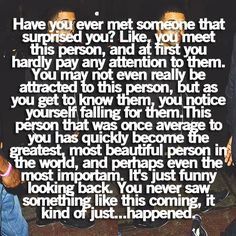This describes, perfectly, my situation with my husband when we first met. Lovvee this so much! VE <3