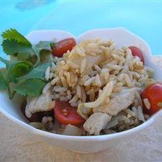 Thai Pork Fried Rice 4/18/13