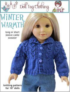 Doll Tag Clothing pattern at Liberty Jane Patterns