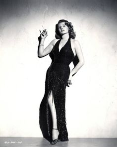 "Rita Hayworth 1952 ""Affair In Trinidad"" - Photo by Coburn"