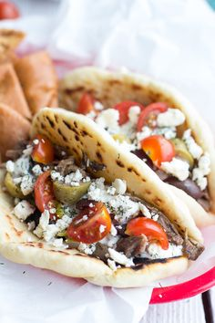 Easy Traditional Greek Gyros | halfbakedharvest.com