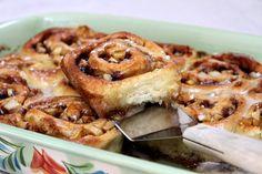 No Yeast Apple Cinnamon Rolls | Recipe Girl