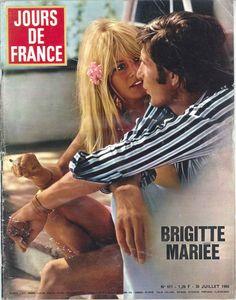 Brigitte Bardot mariée à Günther Grass - Jours de France n°611, 30 juillet 1966