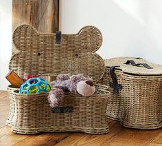 Doggie Toy Basket From Pottery Barn | Pretty Fluffy