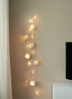 Fairy Lights on Pinterest Fairy Lights, String Lights and Bedroom Fairy Lights