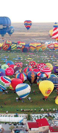 Balloon Festival, Alberquerque, New Mexico, October
