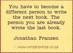 Quotable - Jonathan Franzen - Writers Write