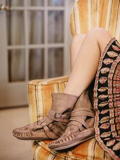 Free People Luv Stoned Moccasin