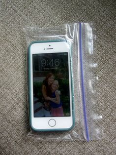 Disposable iPhone Case--perfect for the beach!