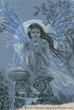Blue Moon Faery