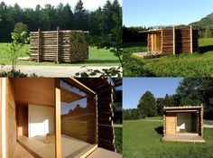 """What do you think of this log cabin by Lab Zero?    Yeta is a log cabin that can be used for different purposes: as a """"room with a view"""" in the forest; a meditation space; a temporary dwelling and more. Its basic version features a mini-kitchen and a mini-bathroom with shower.    Its compact size and light modules make transportation and assembly extremely easy.    http://www.lab-zero.com/lzprojects.asp?LINGUA=IT=PROJECTS"""