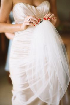 lovely veil | photo by Justin DeMutiis