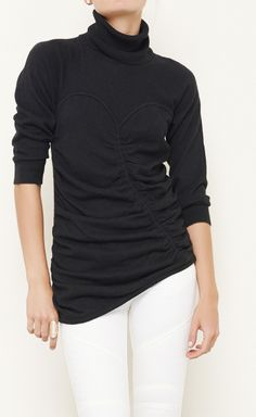 Catherine Malandrino Black Sweater