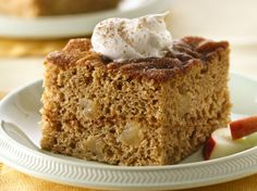 Apple-Cinnamon Cake