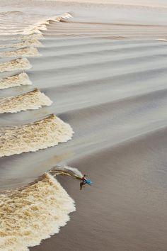 Any wave will do!