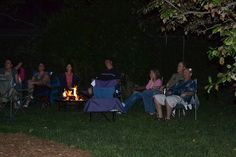 Hosting a Backyard Movie Night