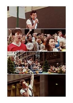 """the parade scene in """"Ferris Bueller's Day Off"""""""