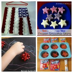 Patriotic Crafts and Snacks ( Great for Memorial Day, Flag Day, 4th of July, Labor Day and Veterans Day)