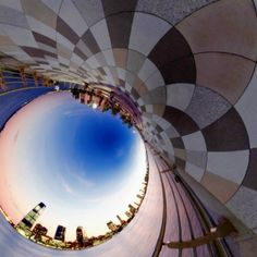 The world in 360 degrees