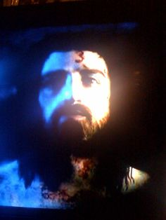 The face of Jesus from the Shroud of Turin