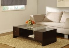 @Overstock - Complete your home decor with this two-drawer open coffee table  Laurel living room furniture features a spacious, glass top for added elegance  Furniture drawers accessible from both sizes for conveniencehttp://www.overstock.com/Home-Garden/Laurel-Two-side-Open-drawer-Coffee-Table/4079437/product.html?CID=214117 $170.99