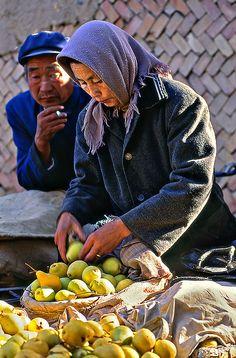 Food market, China