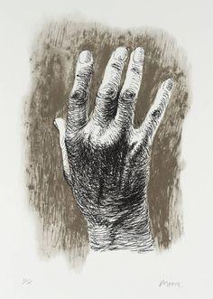 Henry Moore, The Artist's Hand I 1979