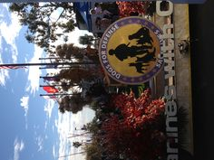 Canines with Courage front of natural balance pet foods rose parade float